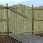 Wooden gate in west bridgford nottingham